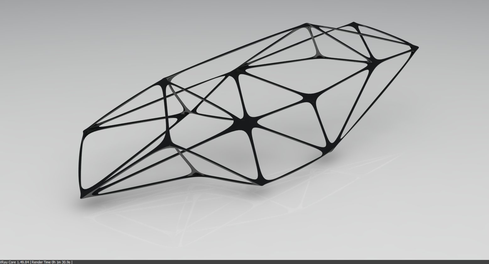 organic space frame the leda atomicus