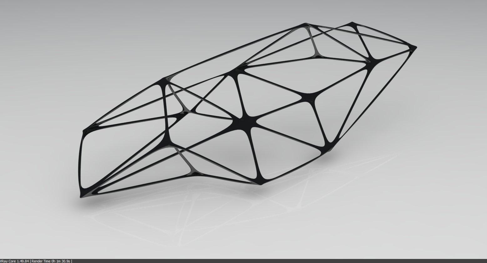 Organic Space Frame | the leda atomicus
